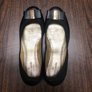 Kate Spade Bow Ballet Flats Size 9